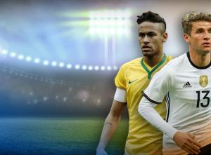 Almanya - Brezilya Hazırlık Maçı