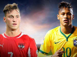 Avusturya - Brezilya Hazırlık Maçı