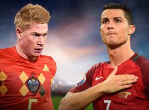 Belçika - Portekiz Hazırlık Maçı